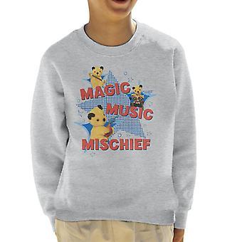 Sooty Magic Music Mischief Kid's Sweatshirt