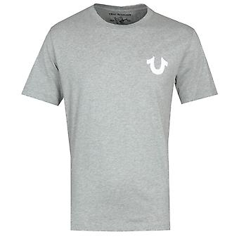 True Religion Logo Grey T-Shirt