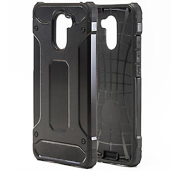 Shell to Huawei Y7 Prime Hard Armor Protection Black Case