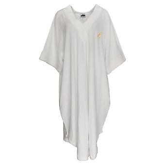 Metropolitan Women's Robe Pull-on V-neck White