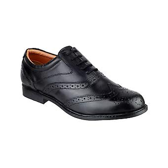 Amblers men-apos;s liverpool oxford brogue noir 11762