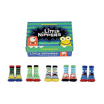 United odd socks little nippers