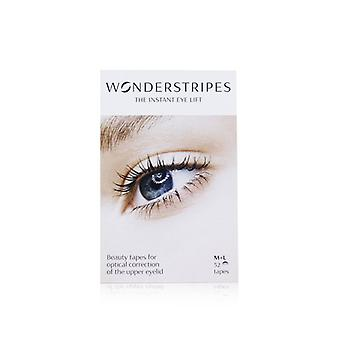 Wonderstripes The Instant Eye Lift Beauty Tapes (medium + Large) - 52tapes