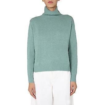 Aspesi 4072396501168 Mulheres'suéter de lã verde
