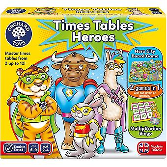 Orchard Toys Times Table Heroes