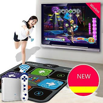 Wireless Console Dance Mat Tv Computer Single Players Dual Use New Massage Yoga