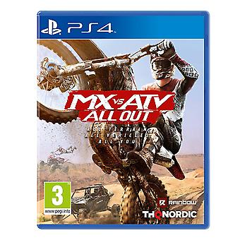 MX vs ATV All Out PS4 Spiel