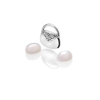 Anais diamantes calientes Anais bolso de plata encanto AC118