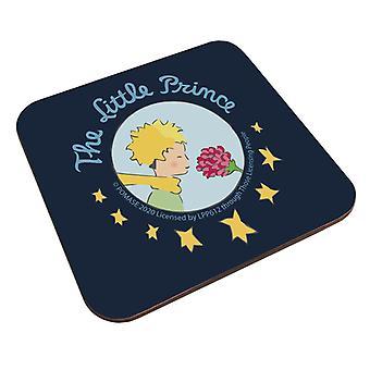Der kleine Prinz & Rose Star Logo Untersetzer