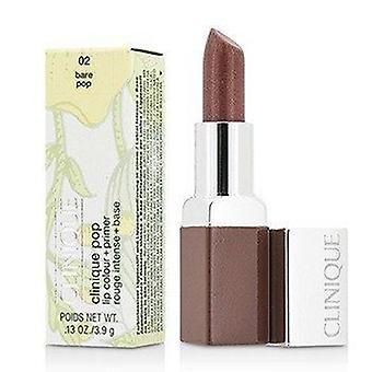 Clinique Pop Lip Colour + Primer - # 02 Bare Pop 3.9g or 0.13oz