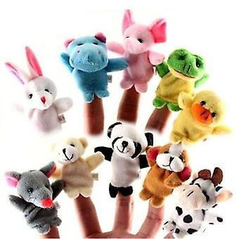 Tier Finger Puppe Plüsch für Kind Geburtstag
