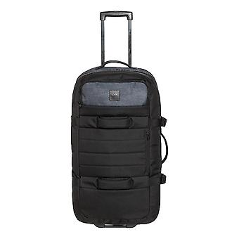 Quiksilver New Reach 100L Large Wheeled Suitcase - Black