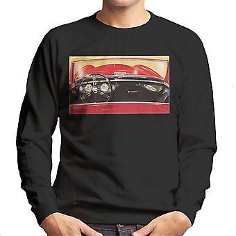 Austin Healey Drivers Seat British Motor Heritage Men's Sweatshirt