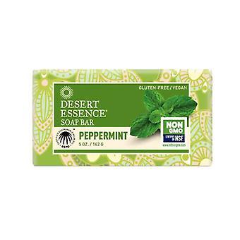 Desert Essence Bar Soap, Peppermint 5 OZ