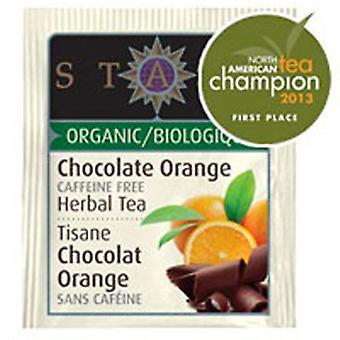 Stash Tea Organic Chocolate Orange Herbal Tea, 18 Bags