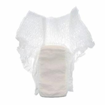Cardinal Unisex Adult Absorbent Underwear Simplicity Extra Pull On with Tear Away Seams Large Disposable Mode, 25 Bags