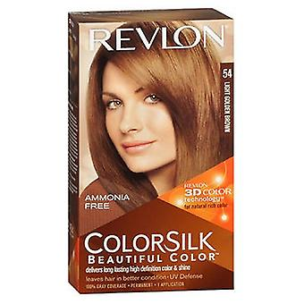 ريفلون Colorsilk لون الشعر الطبيعي، 5G البني الذهبي الفاتح لكل
