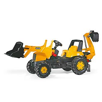 Rolly toys jCB tractor with frontloader & rear excavator for 3-8 year old