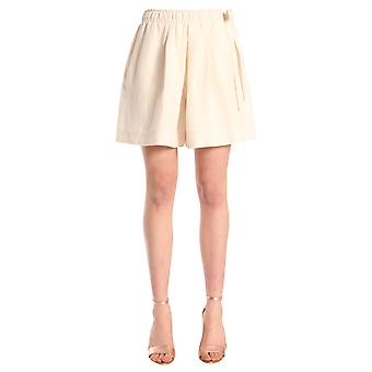 J.w. Anderson Tr23wr18103002 Women's White Linen Shorts