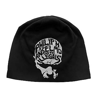 Phil H Anselmo & The Illegals Beanie Hat Face new Official Black Unisex