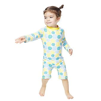 Bonverano Girls One Piece UPF 50+ Sun Protection Long Sleeves Zipper Sunsuit
