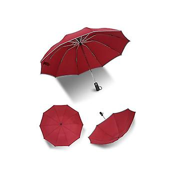 Parapluie inversé avec bande réfléchissante