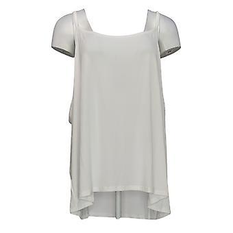 Kobiety z control women&s Plus Top Bez rękawów Koronkowy top biały A305377