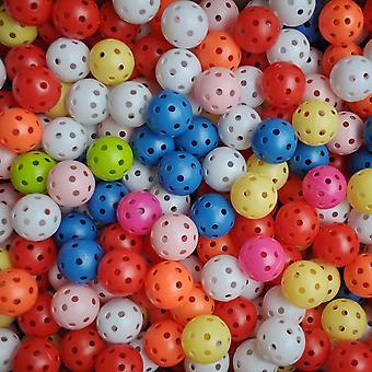 צבעים אקראיים כדורי גולף פלסטיק