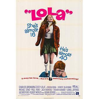 Lola Movie plakatutskrift (27 x 40)