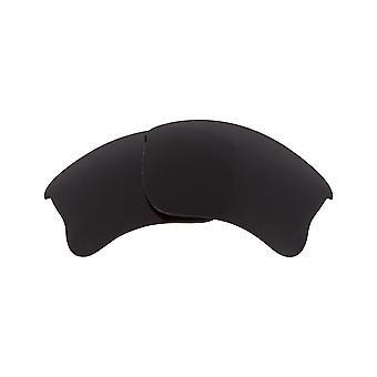 Replacement Lenses for Oakley Half Jacket 2.0 XL Sunglasses Anti-Scratch Black