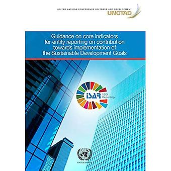 Guidance on core indicators� for entity reporting on contribution towards implementation of the sustainable development goals
