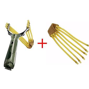 Professional Slingshot Alumiiniseos Catapult Naamiointi keula, Loukkaamaton,