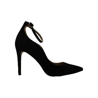 INC International Concepts Womens Kasen Leather Pointed Toe Ankle Strap Classic Pumps