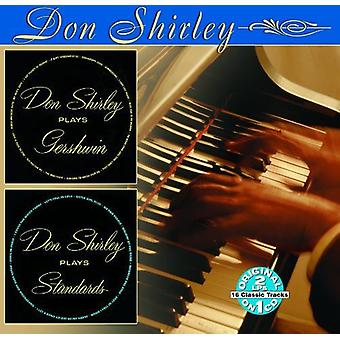 Don Shirley - Plays Gershwin/Plays Standards [CD] USA import