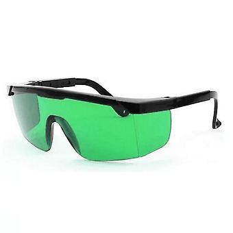 हाइड्रोपोनिक्स एलईडी ग्रो रूम चश्मा-मामले के साथ सुरक्षा काले चश्मे, ब्लॉक