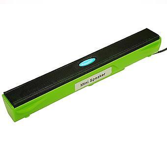 Mini leitor de música usb portátil com fio caixa de som do amplificador de alto-falante