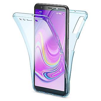 360 Ganzkörper-Schutz Handytasche für Samsung Galaxy - weiche Tpu zurück Abdeckung