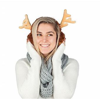 Bigmouth - reindeer ear muffs