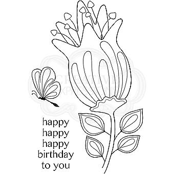 Woodware Clear Stamps - Bold Blooms Quincy