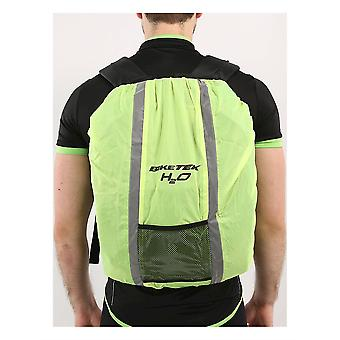 Biketek Motorcycle Hi Vis Reflective Waterproof Rucksack Packback Hump Cover