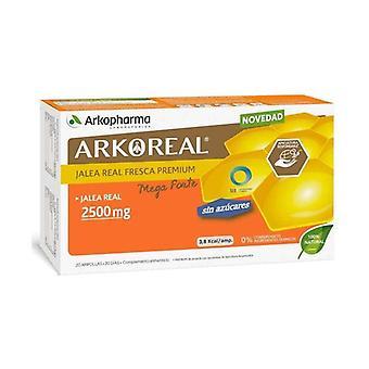 Arkoreal Royal Jelly 2500 Mg Organic Sugar Free 20 units