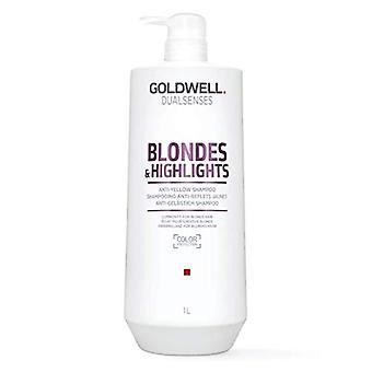 Goldwell Dualsenses Blonde & Highlights Anti-Yellow Shampoo 1000ml