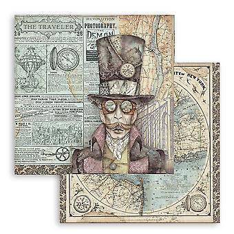 Stamperia Sir Vagabond 12x12 inch papieren