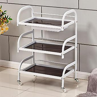 20% Multi-use 3 Layers Beauty Salon Trolley Met Wiel en Lade Manicure