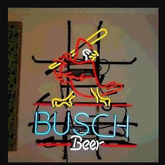 Busch Beer Glass Neon Light Sign Beer Bar