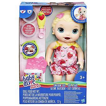 Dziecko żyje super przekąski snackin' lilia blondynka