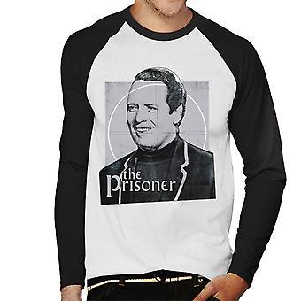 The Prisoner Number 6 Men's Baseball Long Sleeved T-Shirt