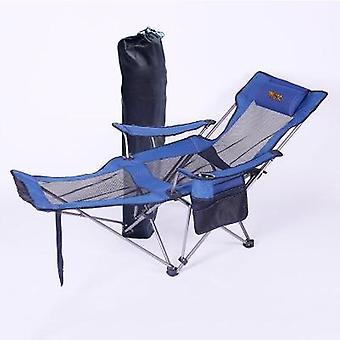 Ulkona kannettava taitettava kalastus camping tuoli istuin