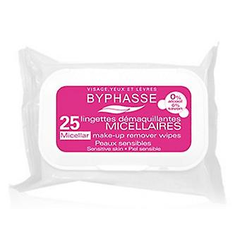 Byphasse Makeup removing Wipes 25 units Micellar solution Sensitive skin