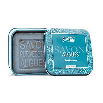 Metal box soap with seaweed 100 g